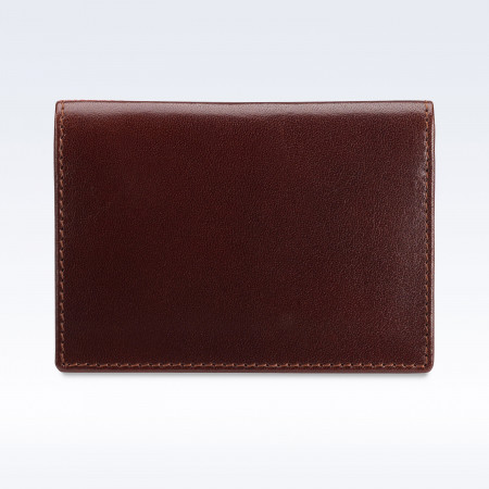 Chestnut Richmond Leather Travel Card Holder