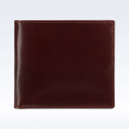 Chestnut Richmond Leather Hip Wallet with Coin Pocket