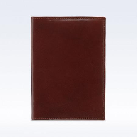 Chestnut Richmond Leather Travel Passport Wallet