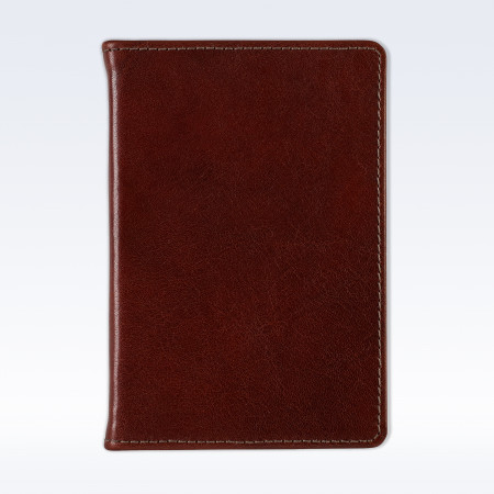 Chestnut Richmond Leather A6 Pocket Notebook