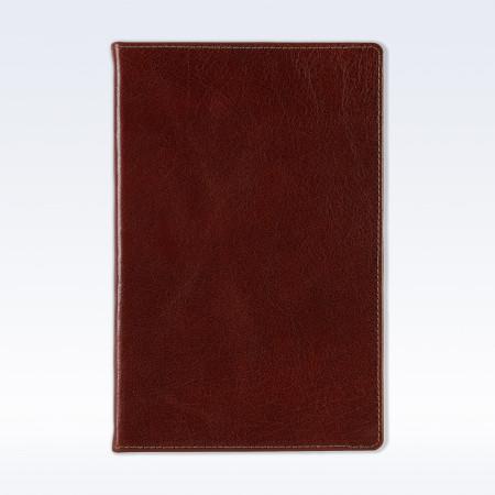 Chestnut Richmond Leather A5 Notebook
