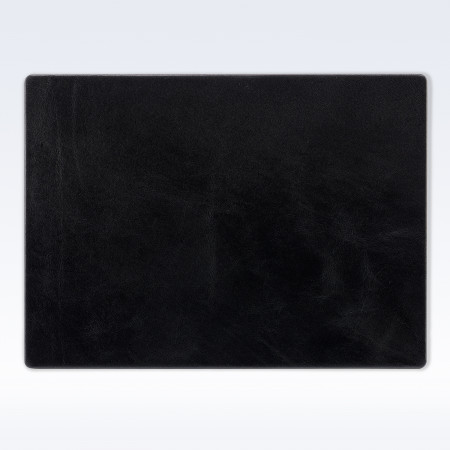 Black Richmond Leather Place Mat