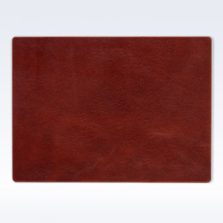 Chestnut Richmond Leather Place Mat