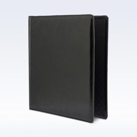 Black Richmond Leather Storage Ring Binder