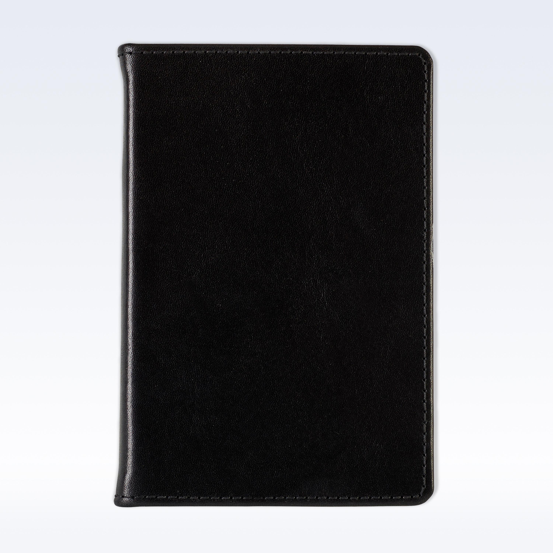 Black Richmond Leather A6 Pocket Notebook A6 Notebooks