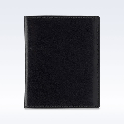 Black Richmond Leather Slimline Wallet