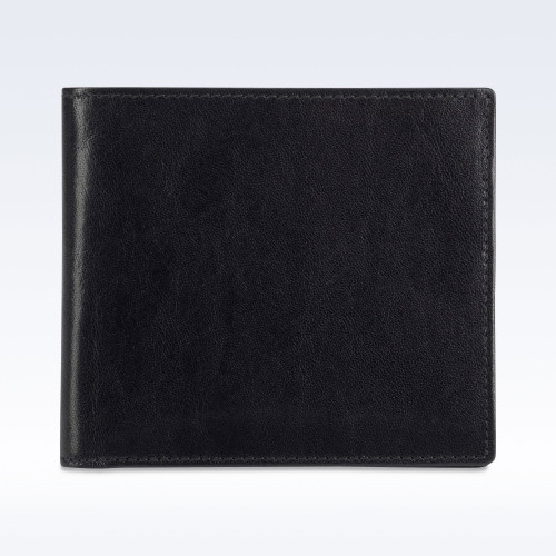 Black Richmond Leather City Hip Wallet
