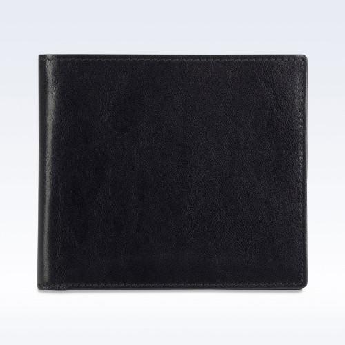 Black Richmond Leather City Hip Wallet