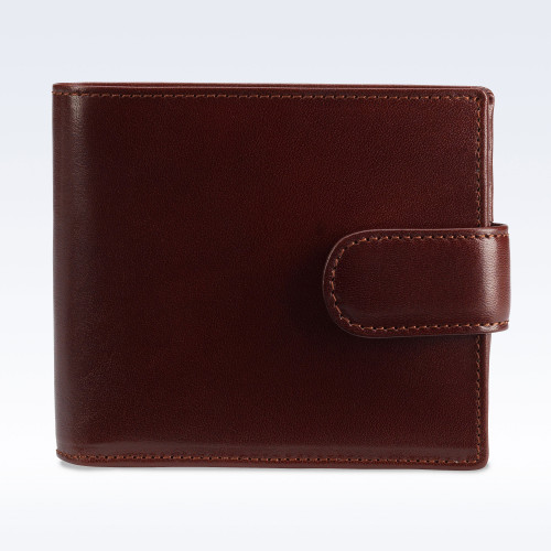 Chestnut Richmond Leather Hip Wallet with Strap