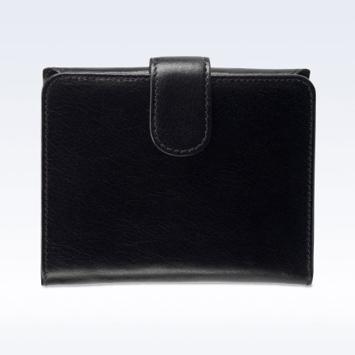 Black Richmond Leather Sophia Ladies Purse