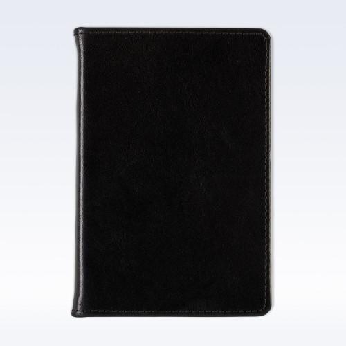 Black Richmond Leather A6 Pocket Notebook