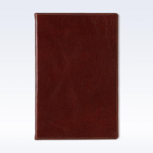 Chestnut Richmond Leather A5 Notebook