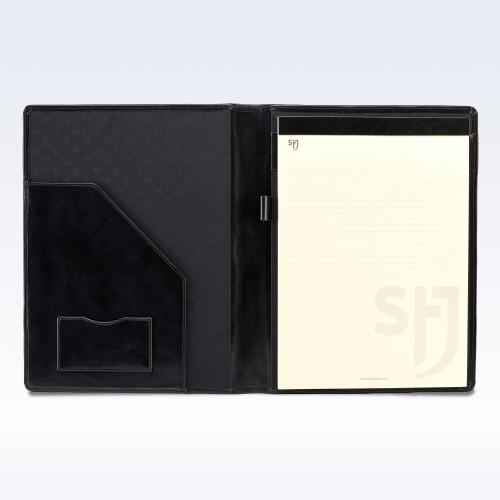Black Richmond Leather Executive A4 Folder