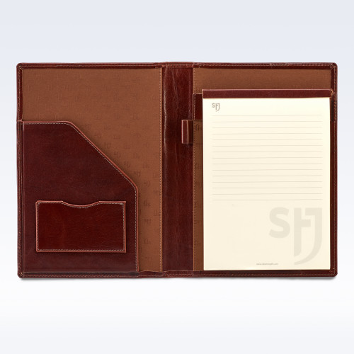 Chestnut Richmond Leather Executive A5 Folder