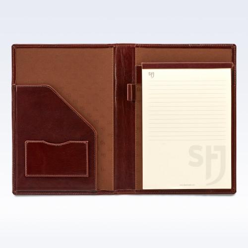 Chestnut Richmond Leather Executive A5 Folder