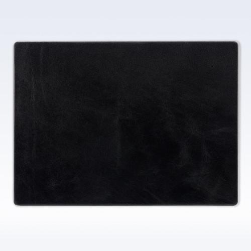 Black Richmond Leather Place Mat