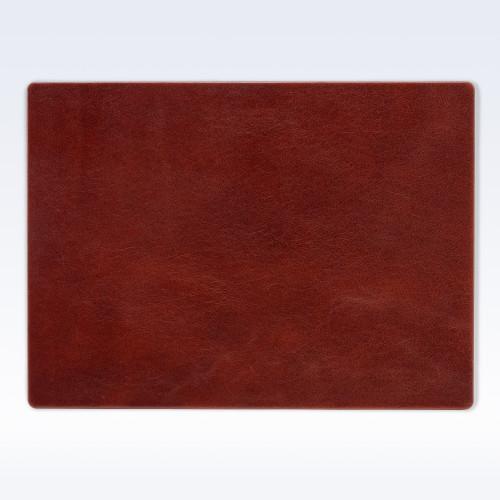 Chestnut Richmond Leather Place Mat