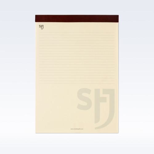 Chestnut Richmond Leather Trimmed a4 Refill Pad