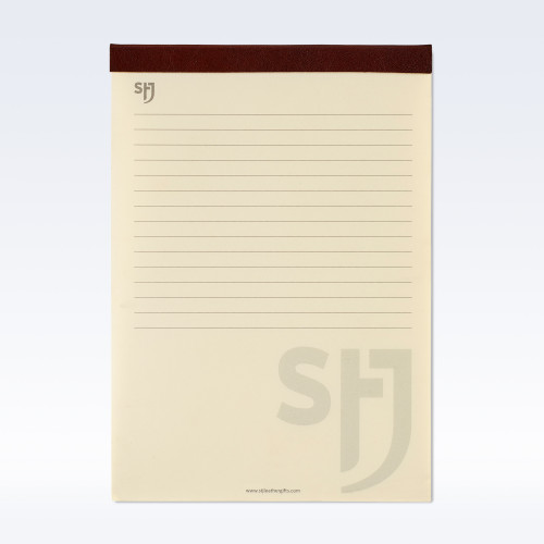 Chestnut Richmond Leather Trimmed a5 Refill Pad