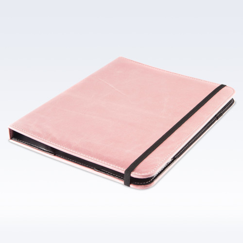 Shell Pink Kensington Leather iPad Case