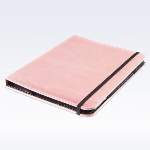 Shell Pink Kensington Leather iPad Case