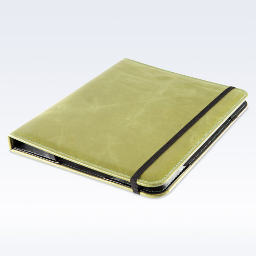 Spring Green Kensington Leather iPad Case