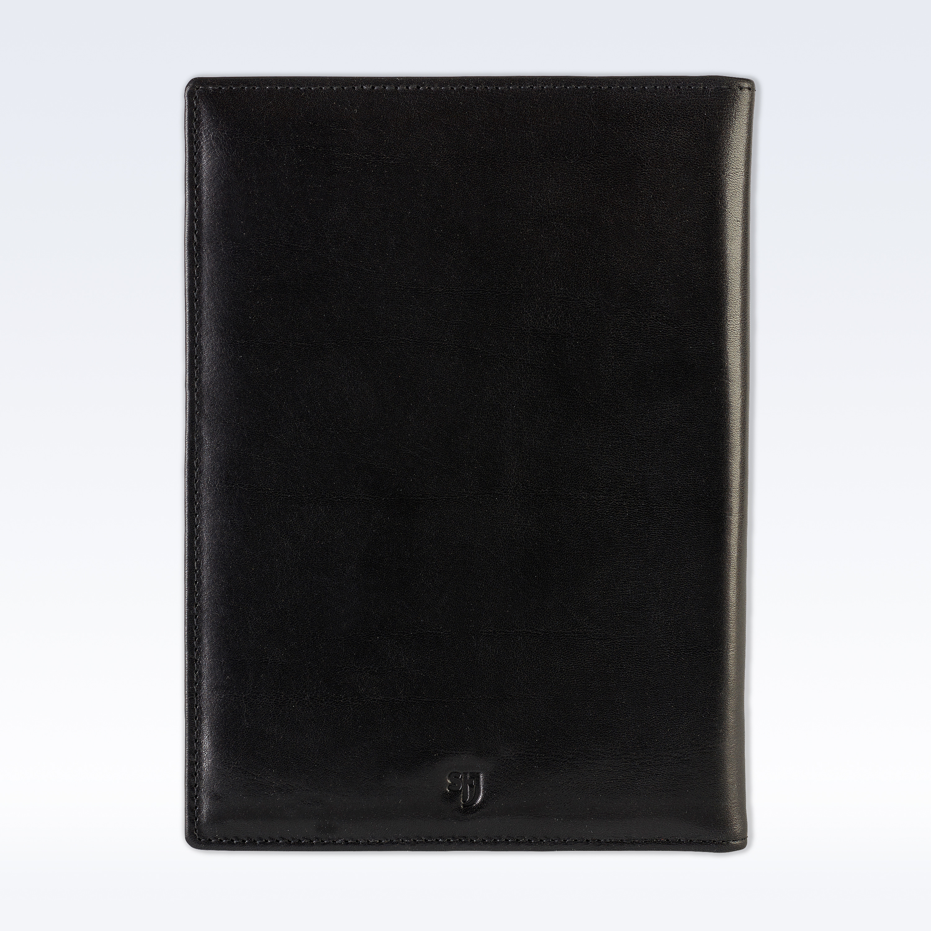 black richmond leather executive a5 folder